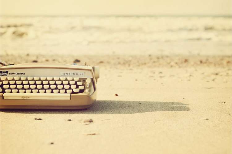 Typewriter Photography Typewriter-beach Typewriter Photography Tumblr
